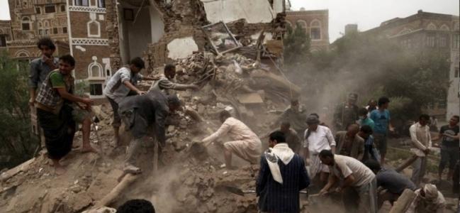 جارح سعودی اتحاد کے جنگی طیاروں نے صوبہ مآرب پر 21 بار بمباری کی